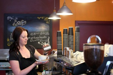 Expresso, an independent coffee shop in Norwich