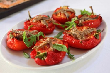 Weddings & Parties Gallery | Stuffed peppers dish