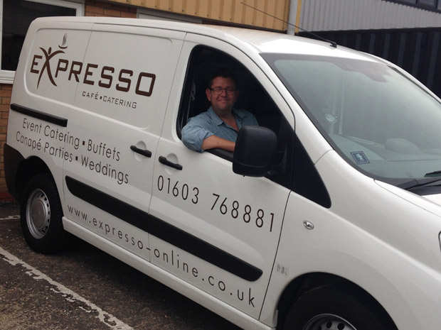 Expresso Norwich, a highly-recommended Norfolk caterer