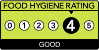 Expresso Café has a Food Hygeine Rating of Good > 4 out of 5