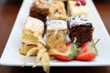 Finger Buffets Gallery | Plated finger buffet cakes