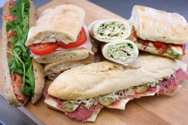 Corporate Catering Gallery | Sandwiches & wraps